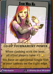 Shur Wen Na - Co-op Tournament